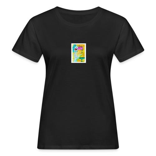 Woman and Wine - Frauen Bio-T-Shirt