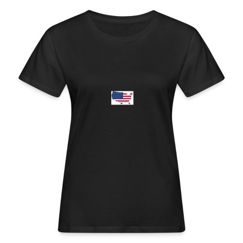 porte clé américain - T-shirt bio Femme
