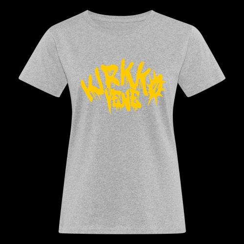 KIRKKIS LOGO 2021 - Naisten luonnonmukainen t-paita