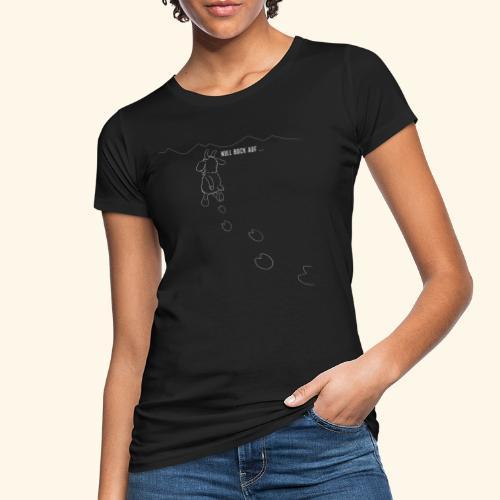 Schafbock: Null Bock auf - weiß - Frauen Bio-T-Shirt