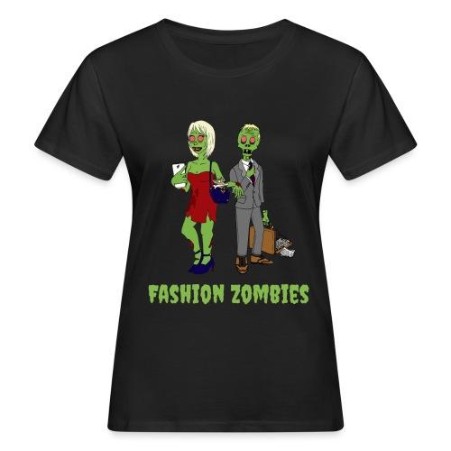 Fashion Zombie - Women's Organic T-Shirt