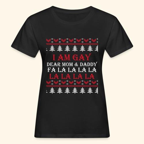 Gay Christmas sweater - Ekologiczna koszulka damska