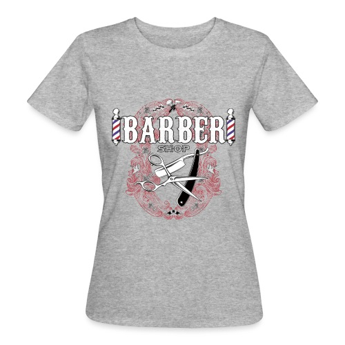Barber Shop_03 - T-shirt ecologica da donna