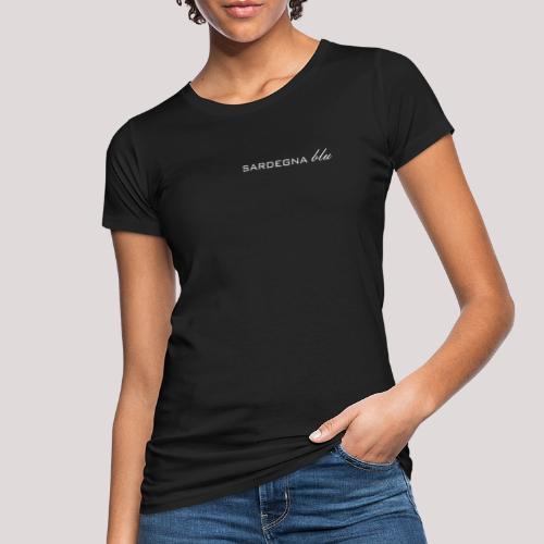 Sardegna blu Schriftzug - Frauen Bio-T-Shirt