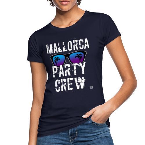 MALLORCA PARTY CREW Shirt - Dames Heren Dames - Vrouwen Bio-T-shirt