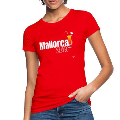 MALLE 2019 Cocktail Shirt - Mallorca Shirt - Vrouwen Bio-T-shirt