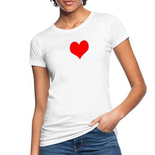 I LOVE MALLE SHIRT Damen Herren Frauen Männer - Vrouwen Bio-T-shirt