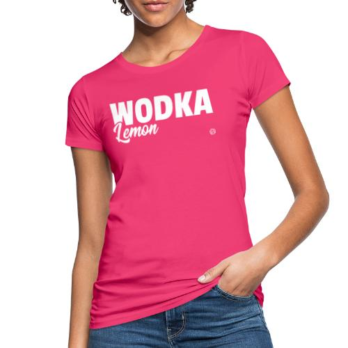 WODKA LEMON SHIRT Vodka Lemon T Shirt Damen Herren - Vrouwen Bio-T-shirt