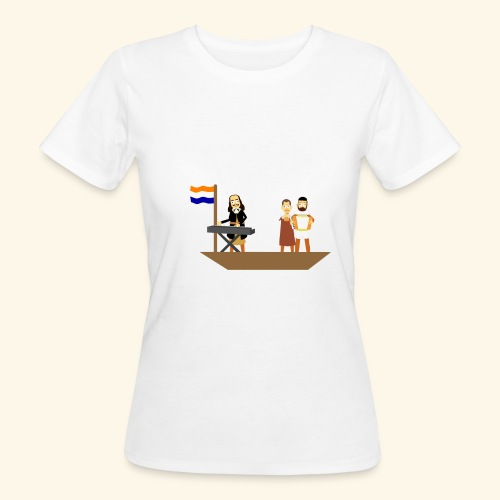 Iedereen is van de wereld... - Vrouwen Bio-T-shirt