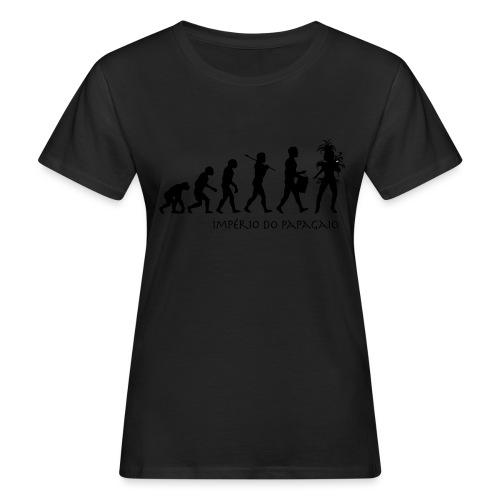 The Evolution of Samba - Naisten luonnonmukainen t-paita