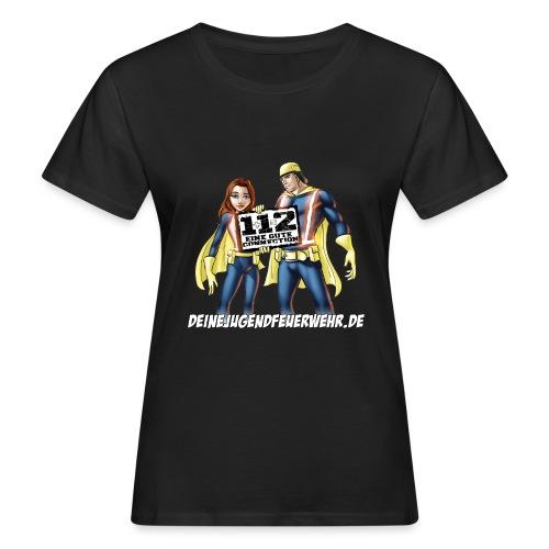Superhelden & Logo - Frauen Bio-T-Shirt