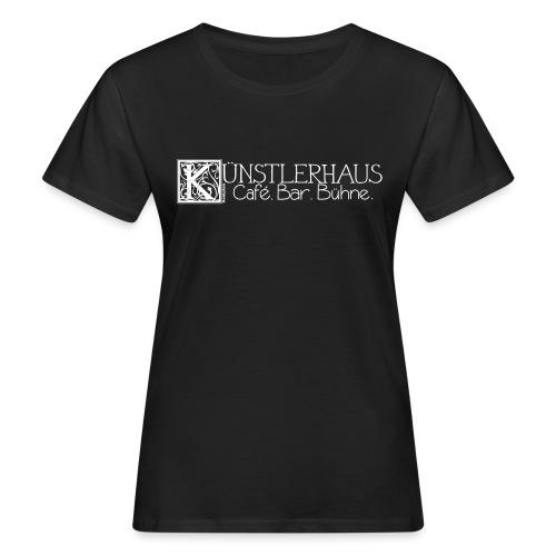 Kuenstlerhaus_Vektor1 - Frauen Bio-T-Shirt