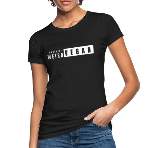 another weird vegan print white - Women's Organic T-Shirt