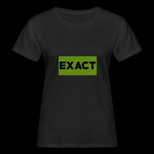Exact Classic Green Logo - Women's Organic T-Shirt
