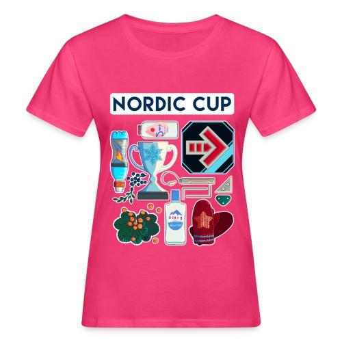 Nordic 2018 - Naisten luonnonmukainen t-paita