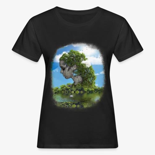 Land of Id - Ekologisk T-shirt dam