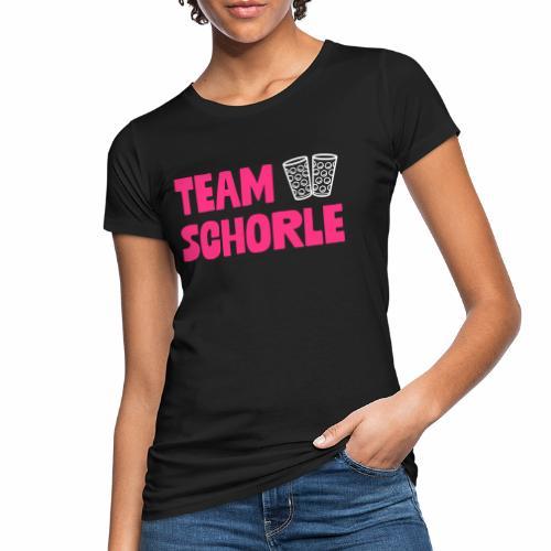 Team Schorle und Dubbegläser - Frauen Bio-T-Shirt