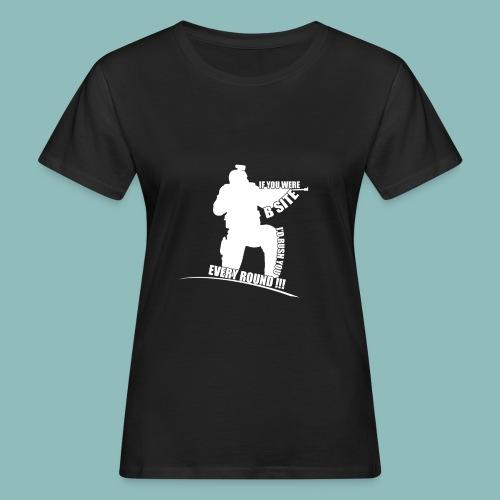 I'd rush you! White Version - Frauen Bio-T-Shirt