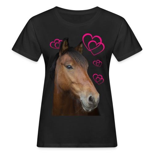 Hästälskare (Musse) - Ekologisk T-shirt dam