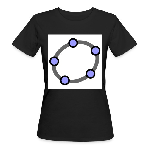 GeoGebra Ellipse - Women's Organic T-Shirt