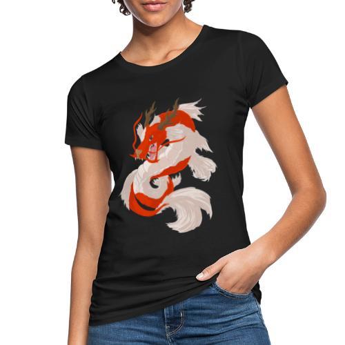 Dragon koi - T-shirt ecologica da donna