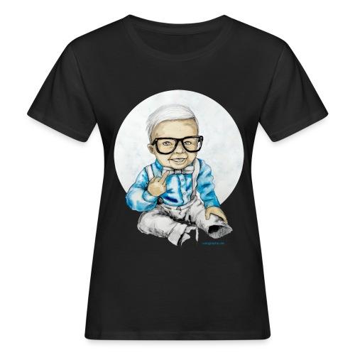 Naughty Boy, carographic - Frauen Bio-T-Shirt