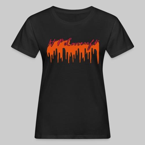 Lovecraft Unterschrift mit Blut groß - Frauen Bio-T-Shirt