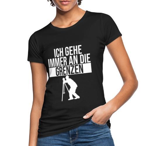 Geomatiker Grenze Geodäsie Vermessungstechniker - Frauen Bio-T-Shirt