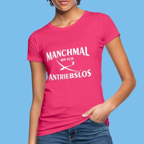 Antriebloser Segelflieger lustig Weihnachten - Frauen Bio-T-Shirt