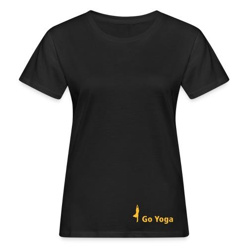 goyogalogosilhouette kl - Frauen Bio-T-Shirt