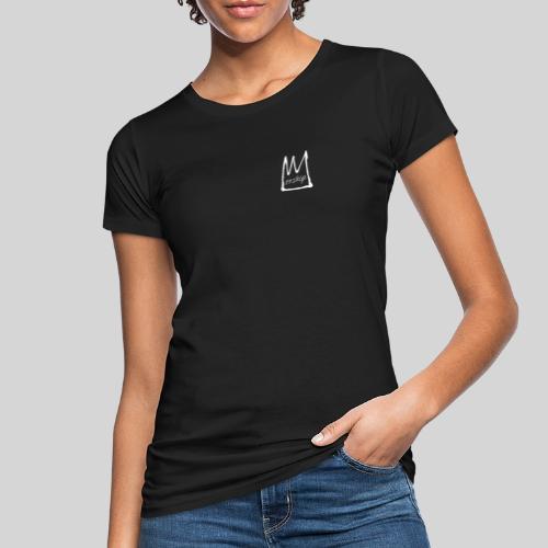 Worship Krone weiß - Lobpreis zu Jesus / Gott - Frauen Bio-T-Shirt