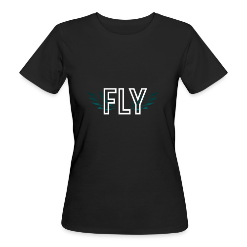 Wings Fly Design - Women's Organic T-Shirt