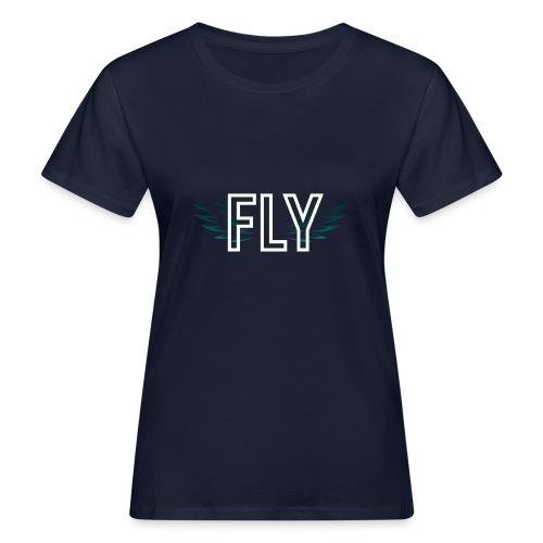 Wings Fly Design - Women's Organic T-Shirt