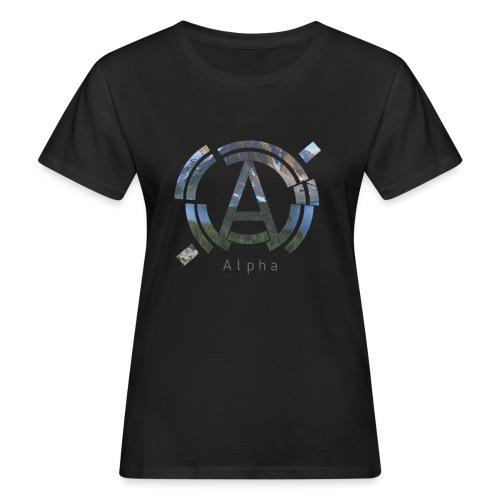 AlphaOfficial Logo T-Shirt - Women's Organic T-Shirt