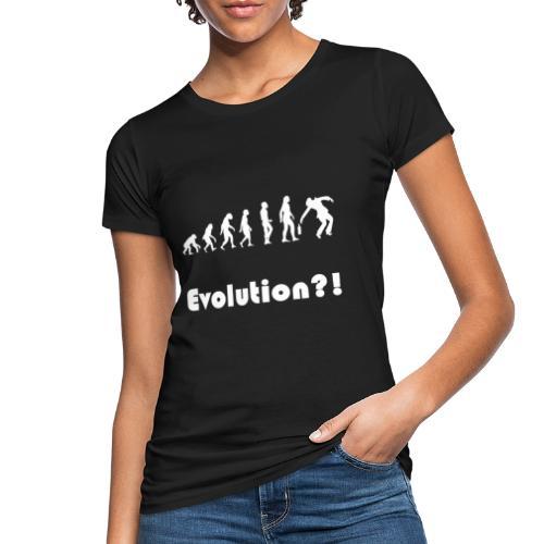 Evolution drunk saeufer alkohol - Frauen Bio-T-Shirt