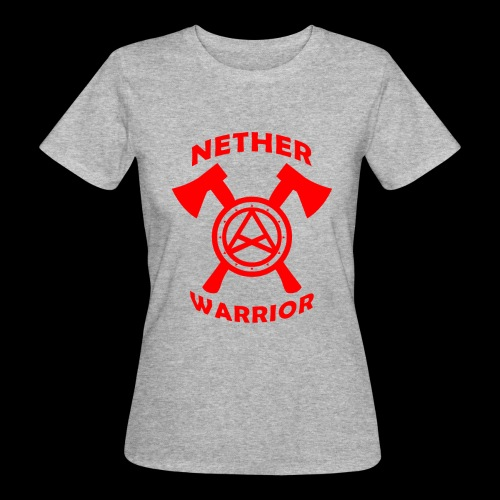 Nether Warrior T-shirt - T-shirt ecologica da donna