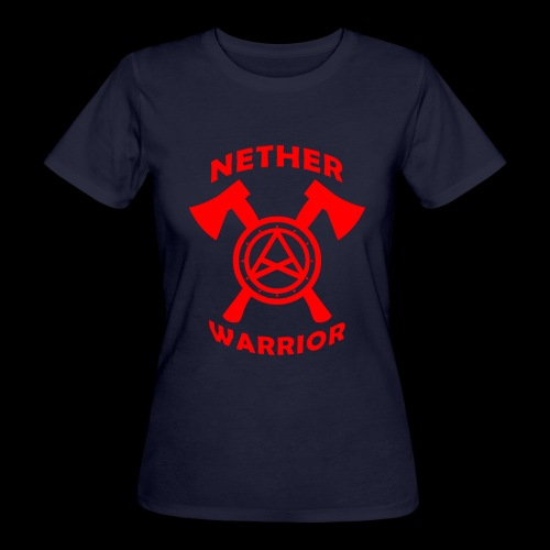 Nether Warrior T-shirt - T-shirt ecologica da donna