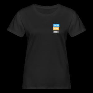 Triathlon Apparel: Swim Bike Run - Women's Organic T-shirt