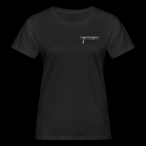 CYNICISM BLACK - Women's Organic T-Shirt