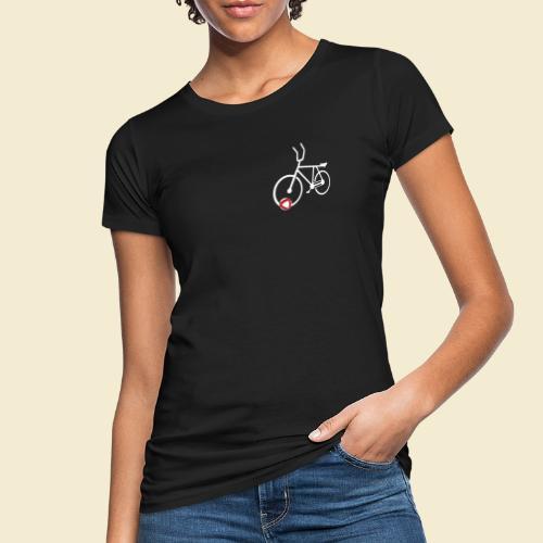Radball | Cycle Ball Polo white - Frauen Bio-T-Shirt