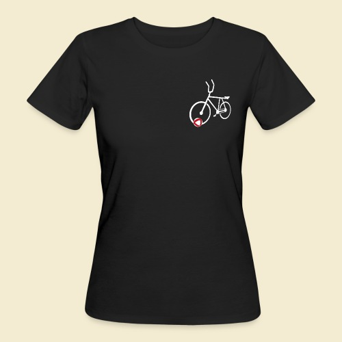 Radball | Cycle Ball Polo white - Frauen Bio-T-Shirt