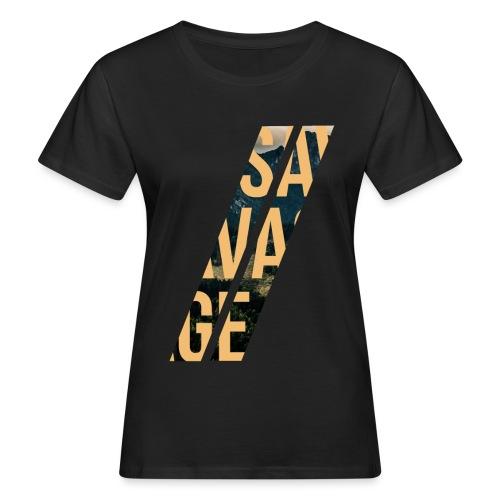 //Savage - T-shirt ecologica da donna