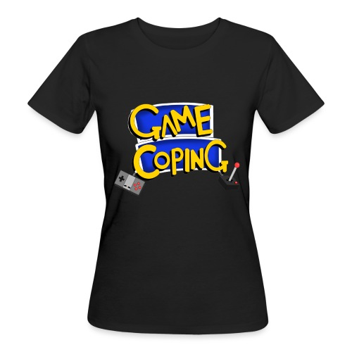 Game Coping Logo - Women's Organic T-Shirt