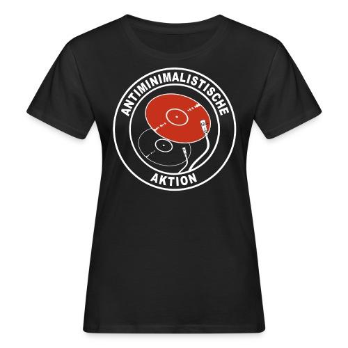 Antiminimalistische Aktion png - Frauen Bio-T-Shirt