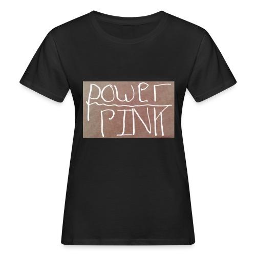 Pink power (girls) - Women's Organic T-Shirt
