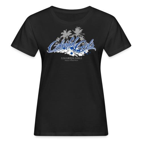 Colorful Girls Logo - Frauen Bio-T-Shirt