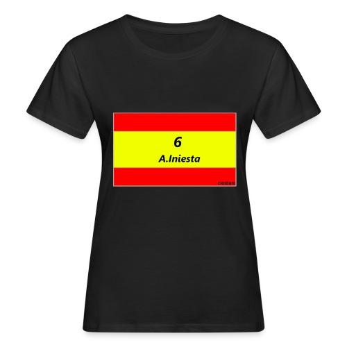 A.INIESTA - Camiseta ecológica mujer