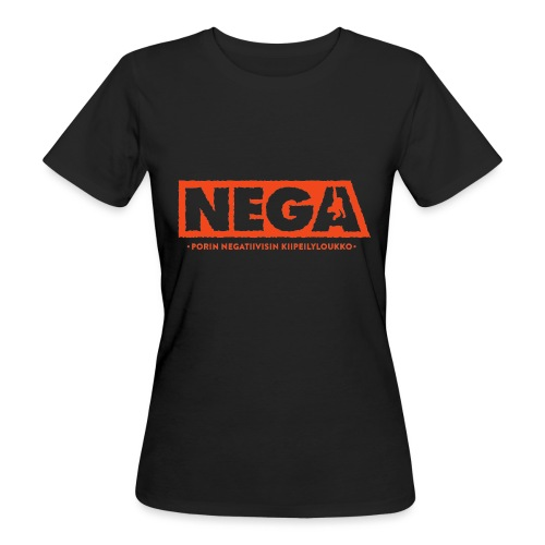 Rullattu peruslogo Naiset - Naisten luonnonmukainen t-paita