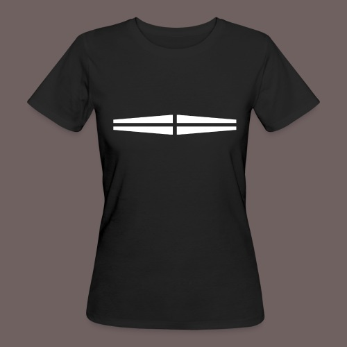 GBIGBO zjebeezjeboo - Rock - Traversant Blanc - T-shirt bio Femme