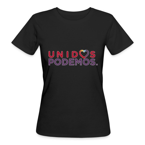 Taza Unidos Podemos 2016 Blanca - Camiseta ecológica mujer